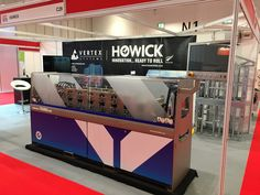 the Howick FRAMA on display at Offsite Construction Show 2016