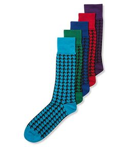 Houndstooth Men's Socks