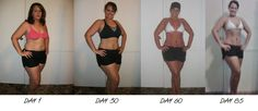 Kati Heifner: P90X Womens Results! Before & After