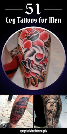 #leg #tattoo #tattoos #ideas #designs #men #formen #menstattooideas