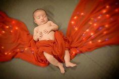 Christmas baby, newborn photography