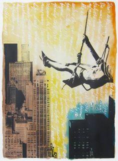Original Cities Painting by Pia Lilenthal Original Art, Original Paintings, Wild And Free, City Style, Conceptual Art, Medium Art, Buy Art, Paper Art, Screen Printing