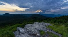 Black Balsam Knob Sunset