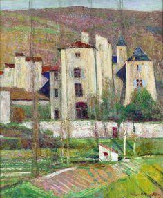 Victor Charreton ~ French Post-Impressionist painter