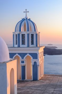 Sunrise in Firostefani, Santorini