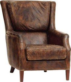 Fåtölj Chelsea, Vintage leather Cigar - Artwood