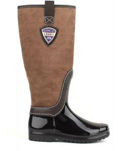 Hnědé dámské holínky Break&Walk Rubber Rain Boots, Riding Boots, Walking, Shoes, Fashion, Horse Riding Boots, Moda, Zapatos, Shoes Outlet