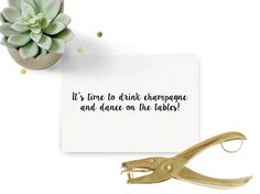 It's Time To Drink Champagne www.studiobast.be