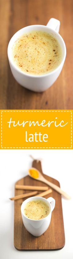 Turmeric latte (Vegan and GF)
