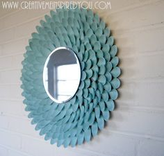 Home Decor for Less- Making Spoon Mirrors