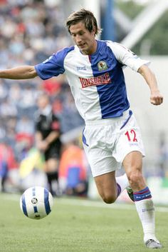 Morten Gamst Pedersen of Blackburn Rovers in Blackburn Rovers Fc, Football Program, 2000s, Legends, Running, Sports, Hs Sports, Keep Running, Why I Run