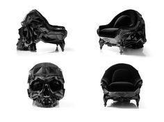 Skull Armchair by Harow (http://www.fubiz.net/2014/10/01/skull-armchair-by-harow/)