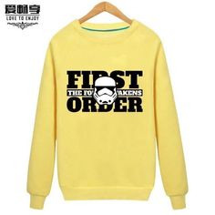 Star Wars - Male Head Plus Sweater Cashmere Sweater Female Long Sleeved Loose Coat Printing Of Young Students Cosplay