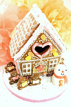Gingerbread House ☃☃❄