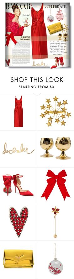 """Celebrate ✨✨✨✨🎄"" by selmendonca ❤ liked on Polyvore featuring Topshop, T By Alexander Wang, Gucci, Heidi Swapp, Tiffany & Co., Sonia Rykiel, Marni, WALL, Giuseppe Zanotti and M&Co"
