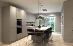 Handless Kitchen, CAD visual. orcadesignltd.com