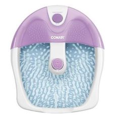 Conair FB3 Foot Bath Spa Tub Acupressure Messager Heat Vibrating Portable