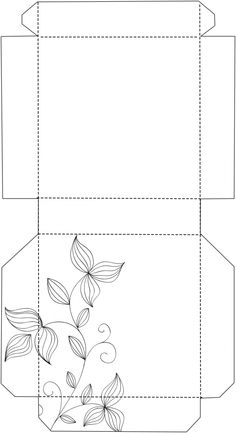 Template caixa para chocolate, lembrancinhas,etc Hobbies And Crafts, Diy And Crafts, Paper Crafts, Post It Holder, Origami Box Tutorial, Fabric Origami, Pretty Box, Kirigami, Card Sketches