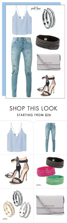 """My Park Lane Style"" by parklanejewelry on Polyvore featuring MANGO, Yves Saint Laurent, Gianvito Rossi, MICHAEL Michael Kors, parklanejewelry and myparklanestyle"
