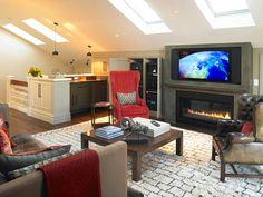 Family Home | Living Room Interior | Montigo Fireplaces | Fireplace Ideas | Custom Built | Home Design