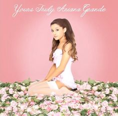 Ariana Grande - Yours Truly Album - perfect -piano & tattooed heart & honeymoon avenue! Ariana Grande Album Cover, Ariana Grande Wallpaper, Corsets, Bilal Hassani, Grandes Photos, K Wallpaper, Ariana Grande Pictures, Jimmy, Yours Truly