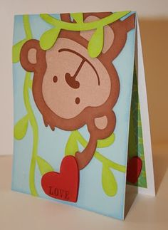 AWESOME!  Create a Critter Monkey Card