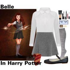 (Contest) Disney character if they went to Hogwarts: Belle 2