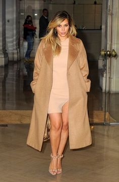 A lot of celebs are rocking the long wool coat. Its become a staple piece in an outfit. It adds sophistication and elegance. -Taylor Ullman