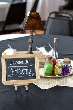 Harry Potter Bridal Shower | Welcome to Potions  C. Keith & T. Barks