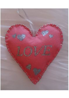 Love Magic Heart & Prism. Hanging by ShopAtJulesCrowther on Etsy