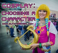 GLITZY GEEK GIRL: Cosplay: Choosing a Character
