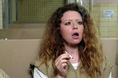 Orange Is the New Black's third season was barely under way when it delivered a serious punch to the heart for fans. Nicky Nichols, played by Natasha Lyonne. Oitnb Nicky, Nicky Nichols, Natasha Lyonne, Closer To The Sun, Black Actresses, Me As A Girlfriend, Hooch, Black Characters, I Have A Crush