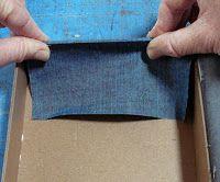 Making a Cigar Box (2): Wrapping the Base
