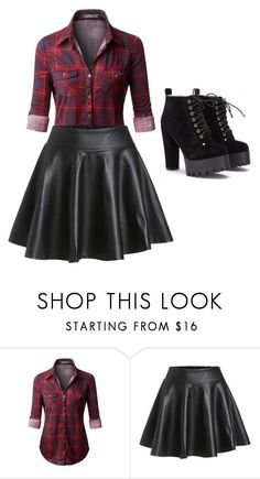 """Playing with leather"" by caitlintol on Polyvore"