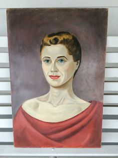 Paintings Stern Faced Lady