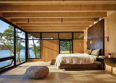 Jim Olson's reverence for nature and admiration of the site's beauty is expressed in the design of this project located on Puget Sound and nestled amidst the...