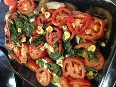 Paleo Mediterranean squash bake