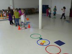 preK pasadena 2011/2012: MOTRICITE: Les jeux collectifs et les ateliers de lancer Activity Games For Kids, Group Games For Kids, Ballons, Physical Education, Physics, Kids Rugs, Tour, Ms, Preschool
