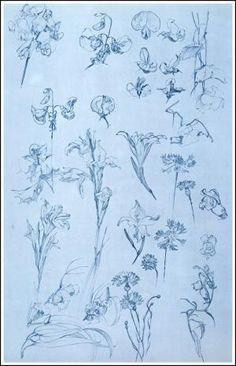 Documents Decoratifs - Plate 23 by Alphonse Mucha