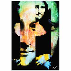 Mark Lewis 'Mona Lisa Noble Purity' Limited Edition Pop Art Print on