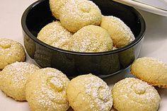 Kokos - Butter - Plätzchen