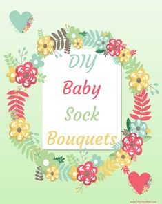 We love Baby things and making our own Baby shower gift and presents for friends who are having babies Is so much fun. Look at these DIY Baby Sock Bouquets. Creative Baby Gifts, Diy Baby Gifts, Baby Crafts, Newborn Gifts, Creative Ideas, Baby Shower Bouquet, Baby Sock Bouquet, Diaper Bouquet, Baby Shower Balloons