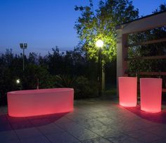 The importance of innovation and research in design at Antonio Lupi means they can create awe inspiring objects like these illuminated bathtubs OIO