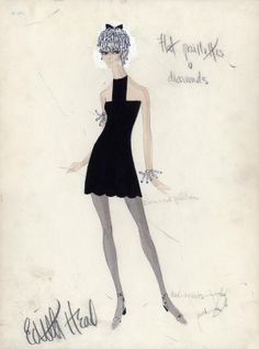 pictures of edith head designs | SWEET CHARITY - EDITH HEAD DESIGN (1969) : Walterfilm, Vintage Movie ...