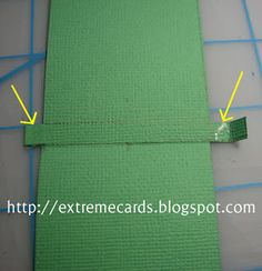 How to make a pull tab card