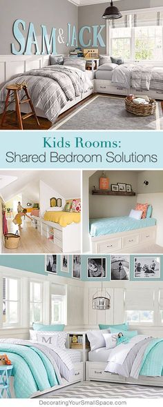 For some day. Kids Rooms: Shared Bedroom Solutions • Tips, Ideas and Tutorials!
