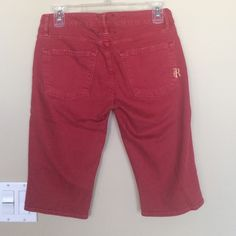 Rich & Skinny red shorts sz 27 Rich & Skinny red shorts sz 27 worn twice Rich & Skinny Shorts