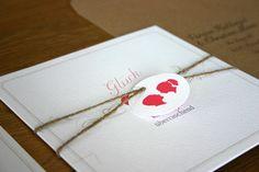 einladungskarte scherenschnitt / wedding invitation silhouette cameo