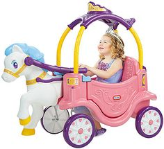 Video review for Little Tikes Princess Horse and Carriage