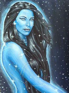... Star Goddess Nuit on Pinterest | Goddesses, The goddess and The sky